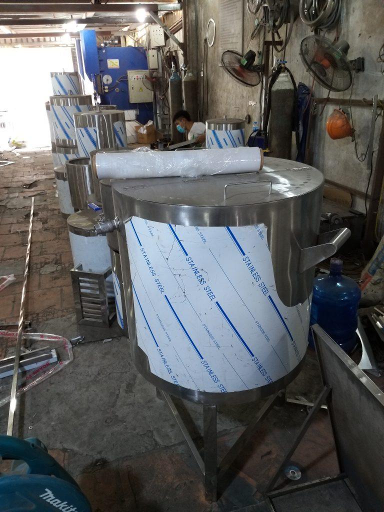Nồi nấu nước phở bằng điện công nghiệp 80L