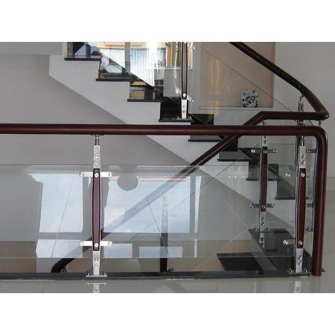 cầu thang inox kính 06