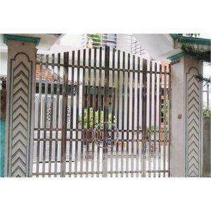 cổng inox cánh inox 05