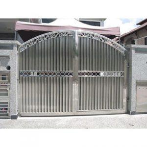 cổng inox cánh inox 01