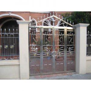 cổng inox cánh inox 02