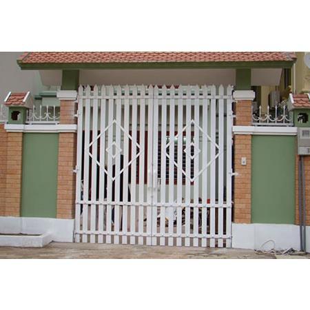 cổng inox cánh inox 006