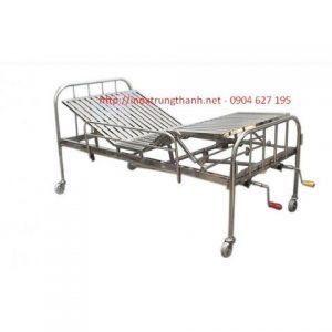 giường inox bệnh nhân