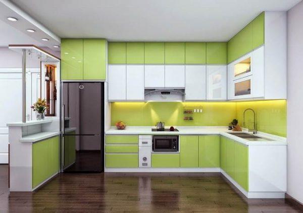 tủ bếp inox mini