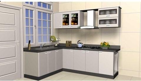Nội thất nhà bếp với thiết kế tủ bếp inox đẹp lại nhẹ túi tiền