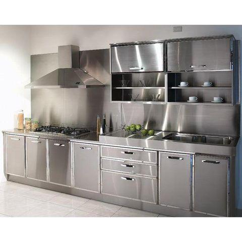Tủ bếp inox sang trọng hiện đại