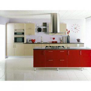 tủ bếp inox canh acrylic