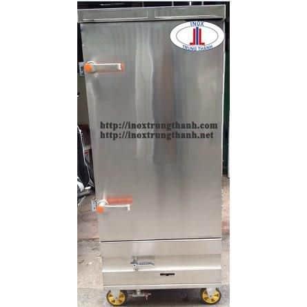 tủ nấu cơm công nghiệp dùng gas và điện