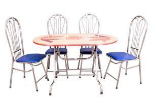 Các mẫu bàn ghế làm bằng inox