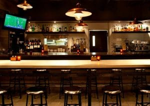 Thiết kế quầy bar khách sạn