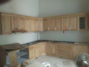 tủ gỗ nhà bếp