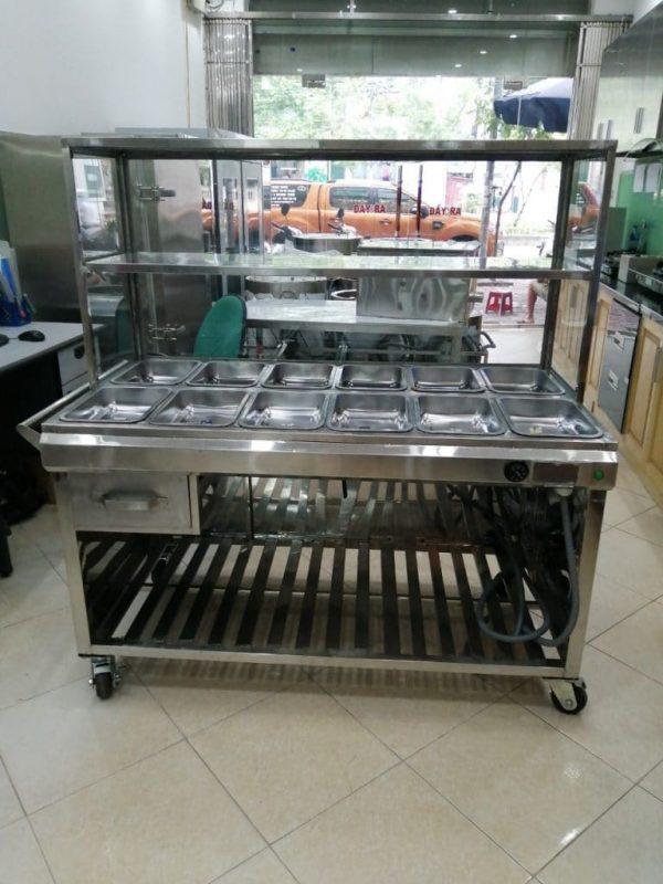 lắp đặt tủ hâm nóng thức ăn tận nơi