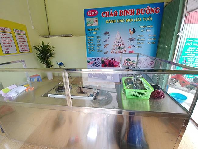 Tủ bảo quản cháo dinh dưỡng Inox Trung Thành