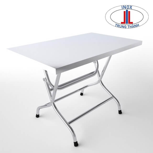 bộ bàn ghế inox