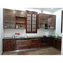 tủ bếp inox cánh gỗ 33