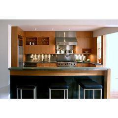 Tủ bếp inox cánh gỗ 19