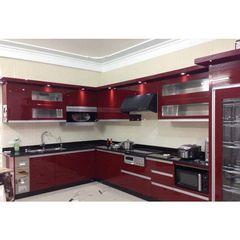 tủ bếp inox cánh gỗ 21
