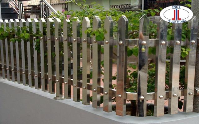 hàng rào inox mẫu đẹp
