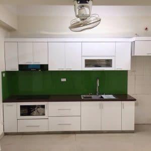 tủ bếp inox acrylic 08